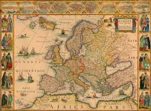 oudekaarteuropa