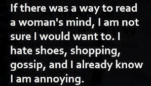 Awoman'smind