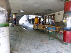 Hundertwasserhausflohmarkt