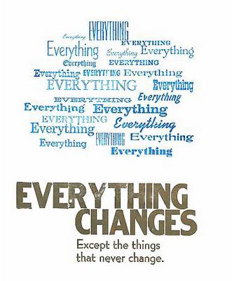 Alles verandert