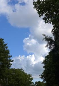 Wolken boven de Stolphoevelaan