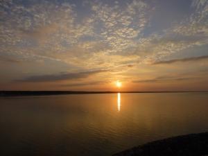 zonsondergang bij Lohme