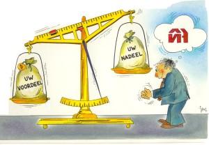 balans voordeel - nadeel