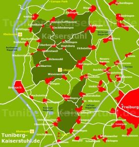 kaiserstuhl-tuniberg-karte-orte-attraktionen