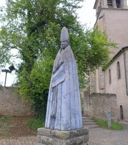 Willibrord voor de kerk