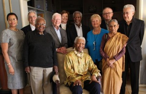 Mandela reunited with Edlers, May  2010
