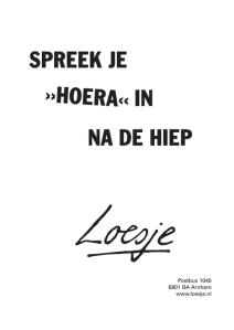 HoeraLoesje