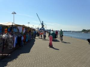 Rostockhaven markt en kermis