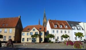 Schleswig Altstadt plein