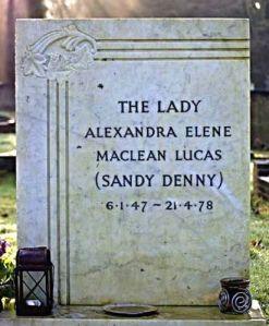 Sandy-gravestone