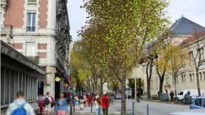 straatbeeld Grenoble