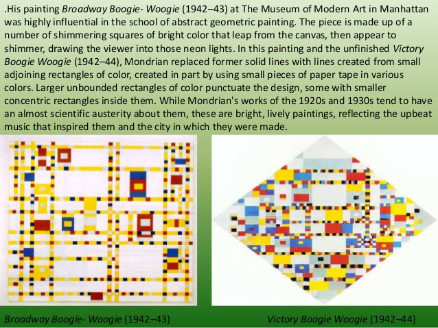 Mondriaan's Boogie Woogie