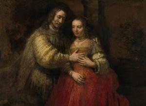 Rembrandt Het Joodse bruidje