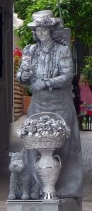 Sevillalevendbeeldmethondje