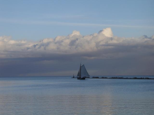 Bootje bij Enkhuizen