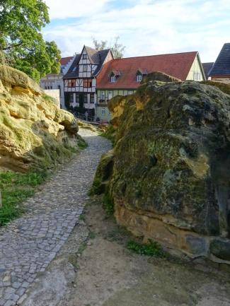 Quedlinburg aandevoetvanderots