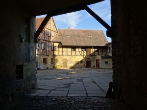 Quedlinburg binnenplaats