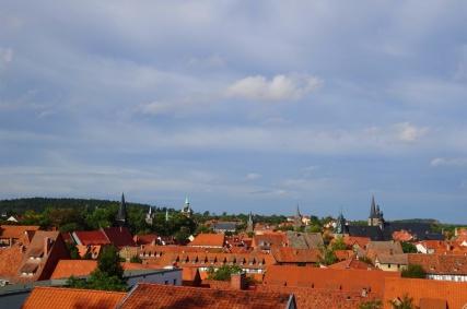 Quedlinburg dakenentorenspitsen