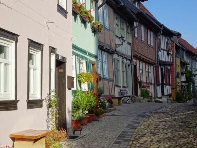 Quedlinburg fleurigstraatje