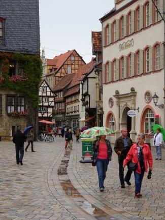 Quedlinburg stadsbeeld