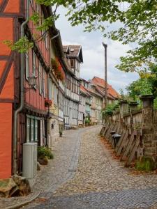 Quedlinburg straatje
