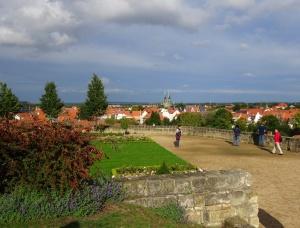 Quedlinburg uitzicht